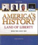 America's History Book II by Steck-Vaughn