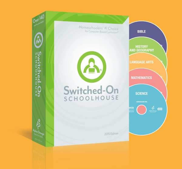 Switched-On Schoolhouse 11th Grade 5-Subject Set from Alpha Omega Publications