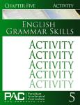 English Grammar Skills Chapter 5 Activities from Paradigm Accelerated Curriculum