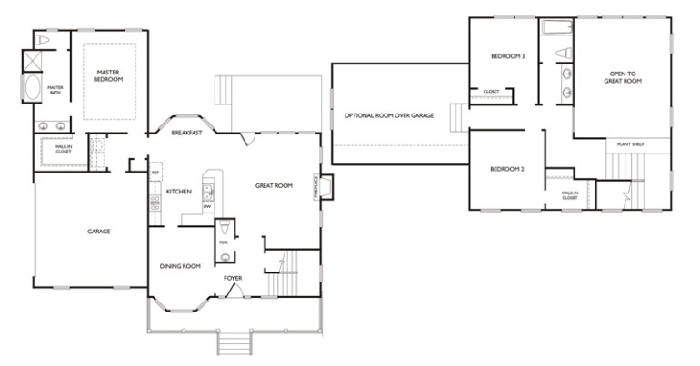 hatteras floor plan