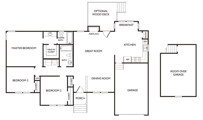 winsor floor plan