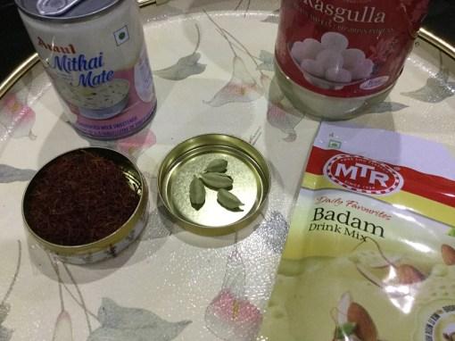 rasmalai ingredients