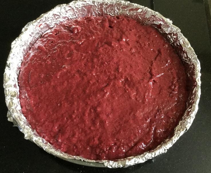 Beetroot Cake Chocolate Ganache