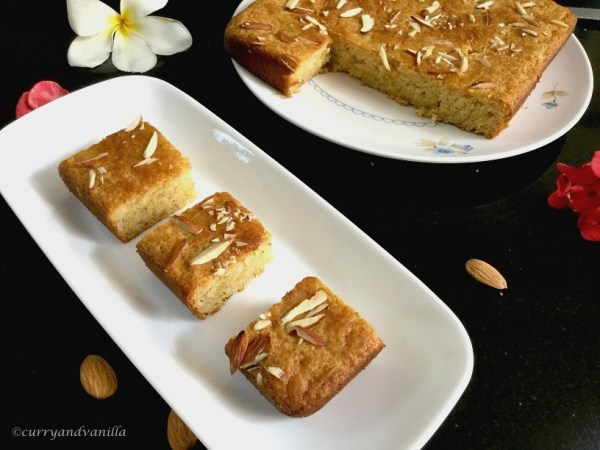 Eggless gulab jamun cake recipe curry and vanilla gulab jamun cake blog1 forumfinder