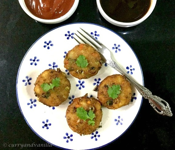 Aloo Tikki Recipe Spicy Indian Style Potato Patties