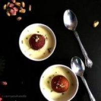 Gulab Jamun with Instant Rabri Recipe