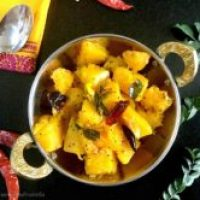 Duddhe Upkari/South Indian Pumpkin Stir Fry