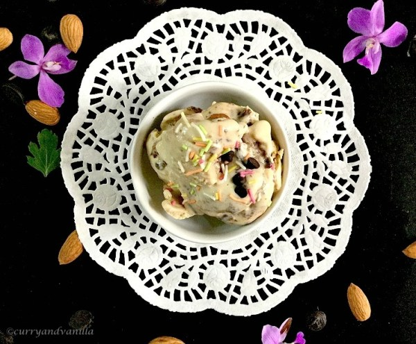 Homemade Mocha Almond Fudge Ice Cream Recipe
