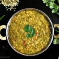 Chilkewali Mung Dhal/Split Mung Bean Curry Recipe