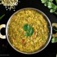 Chilkewali Mung Dhal/Split Mung Bean Curry Recipe