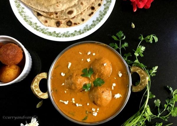 how to make malai kofta curry