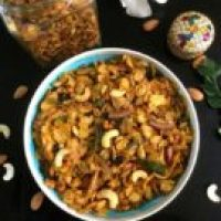 Easy Dry Fruits and Cornflakes Chivda