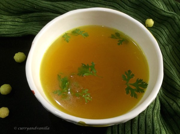 Indian Star Gooseberry Soup/Rajavalo Soup