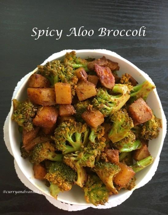 Chatpata And Spicy Aloo Broccoli Curryandvanilla