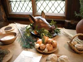 A Tudor Feast in the Hunting Lodge