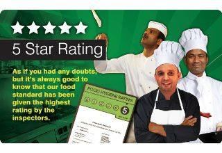 restaurant food hygiene ratings