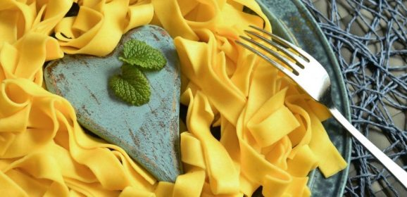 Curried Italian Tagliatelle