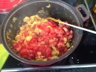Frisse tomaat erbij