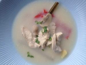 Aromatische Thaise kokossoep