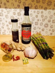 ingredienten oosterse asperges