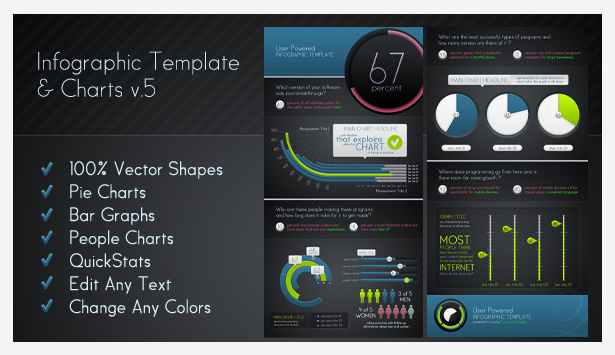 Infographic Elements + Template - 6