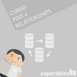 Curso PHP PDO RELATIONSHIPS EspecializaTi