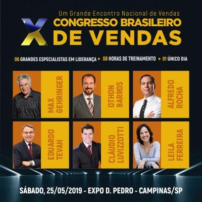 10º CONGRESSO BRASILEIRO DE VENDAS