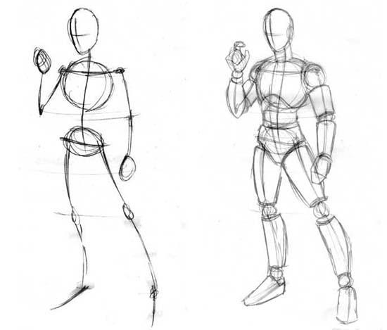 como desenhar animes curso