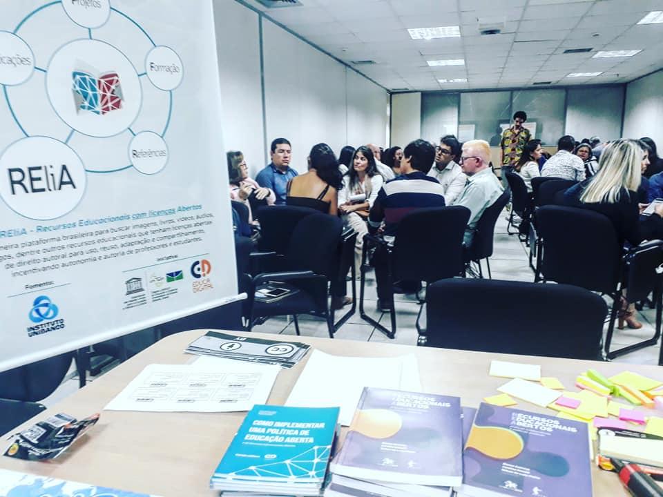 Formação de gestores realizada durante o Seminário REA do Mercosul