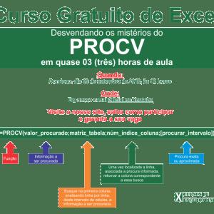 Curso Grátis de Excel: Desvendando os mistérios do Procv
