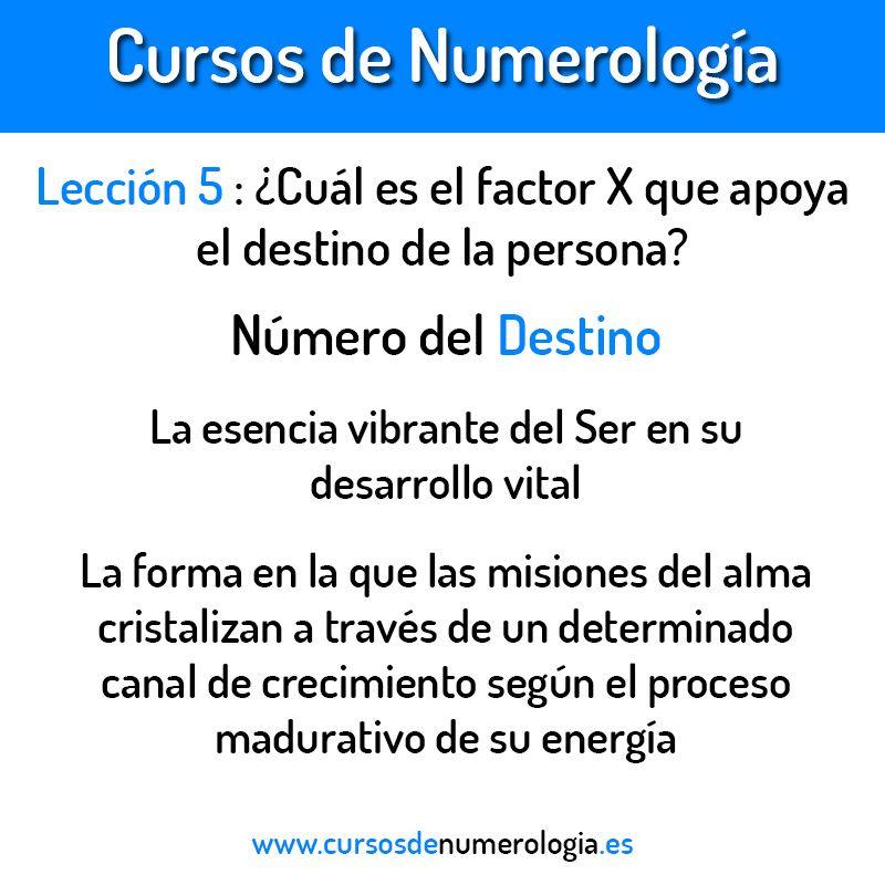 numero del destino numerologia