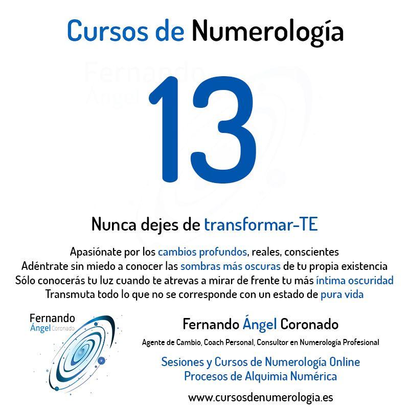 Significado Del Número 13 Ver El Número 13 Número 13 En Numerología