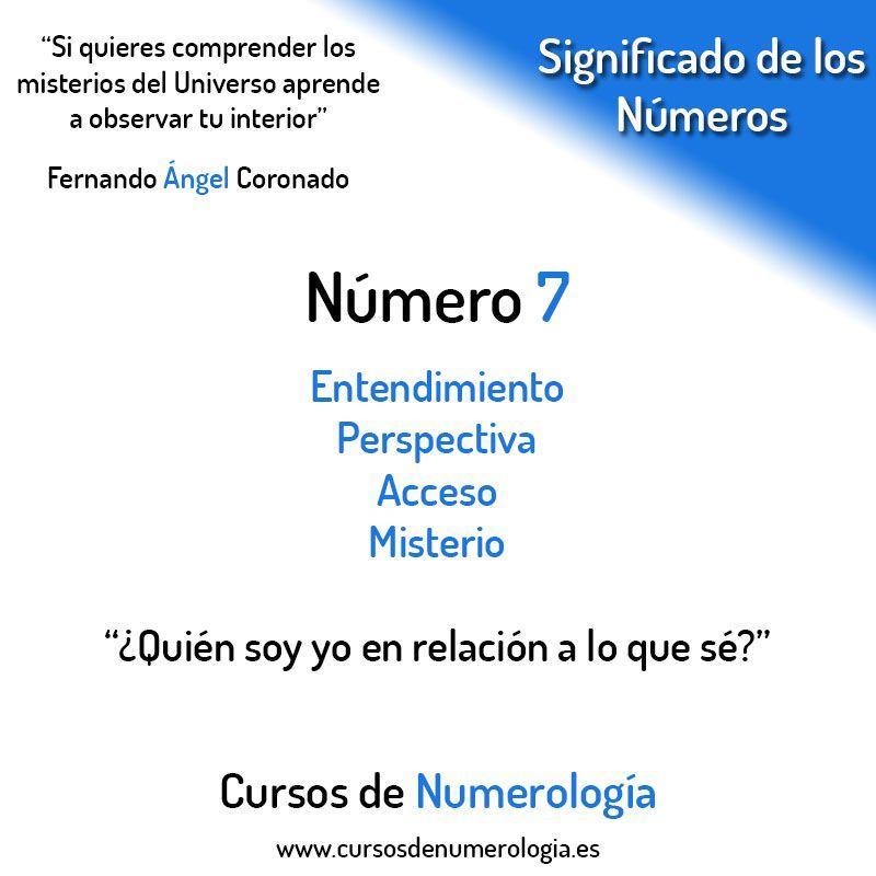 número 7