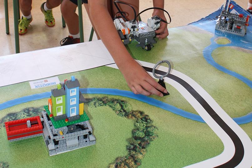 cursos verano robótica educativa Colegio San José