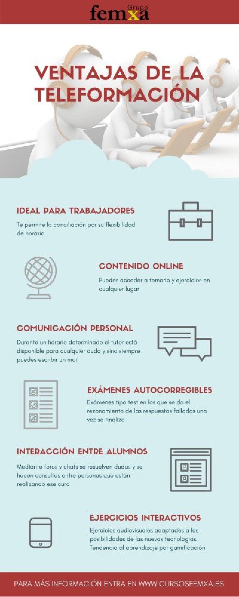 Características de los cursos para trabajadores
