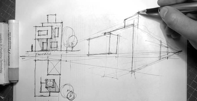 Curso MOOC Gratis Aprende a dibujar a mano alzada. Curso cero de dibujo arquitectónico.