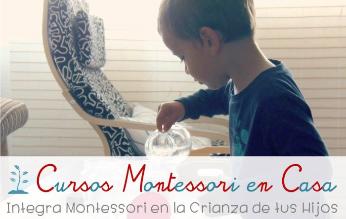 Cursos Montessori en Casa