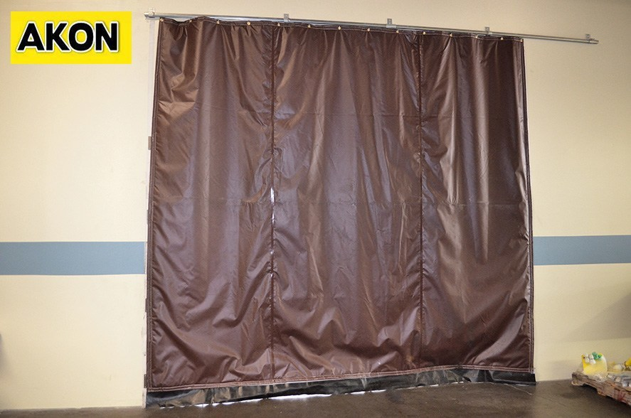Insulated Curtain Walls Akon Curtain And Dividers