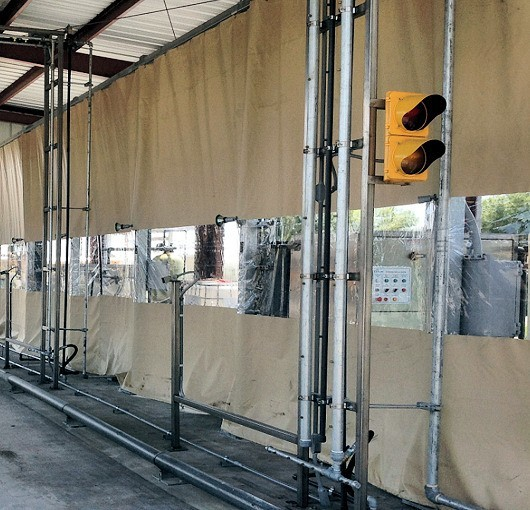 outdoor industrial curtains