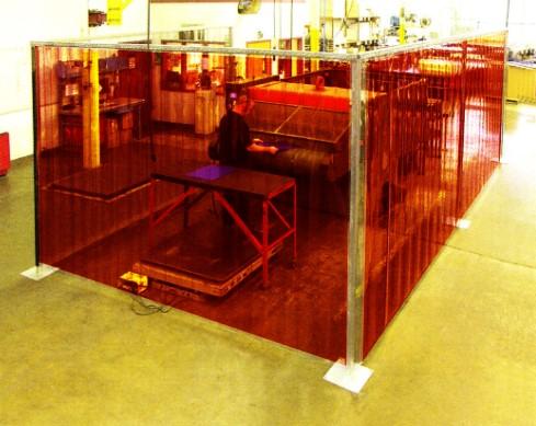 freestanding curtain booths akon