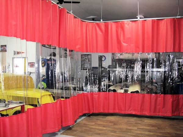 garage divider curtains akon