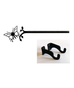 Butterfly Curtain Rod