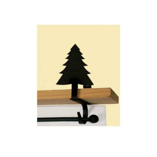 Pine Tree Curtain Rod Brackets