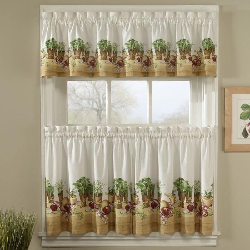 Herb Kitchen Curtains