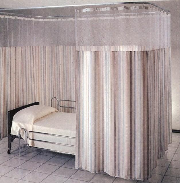 curtain tracks for hospital builders