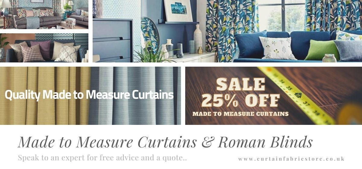 curtain fabric made to measure