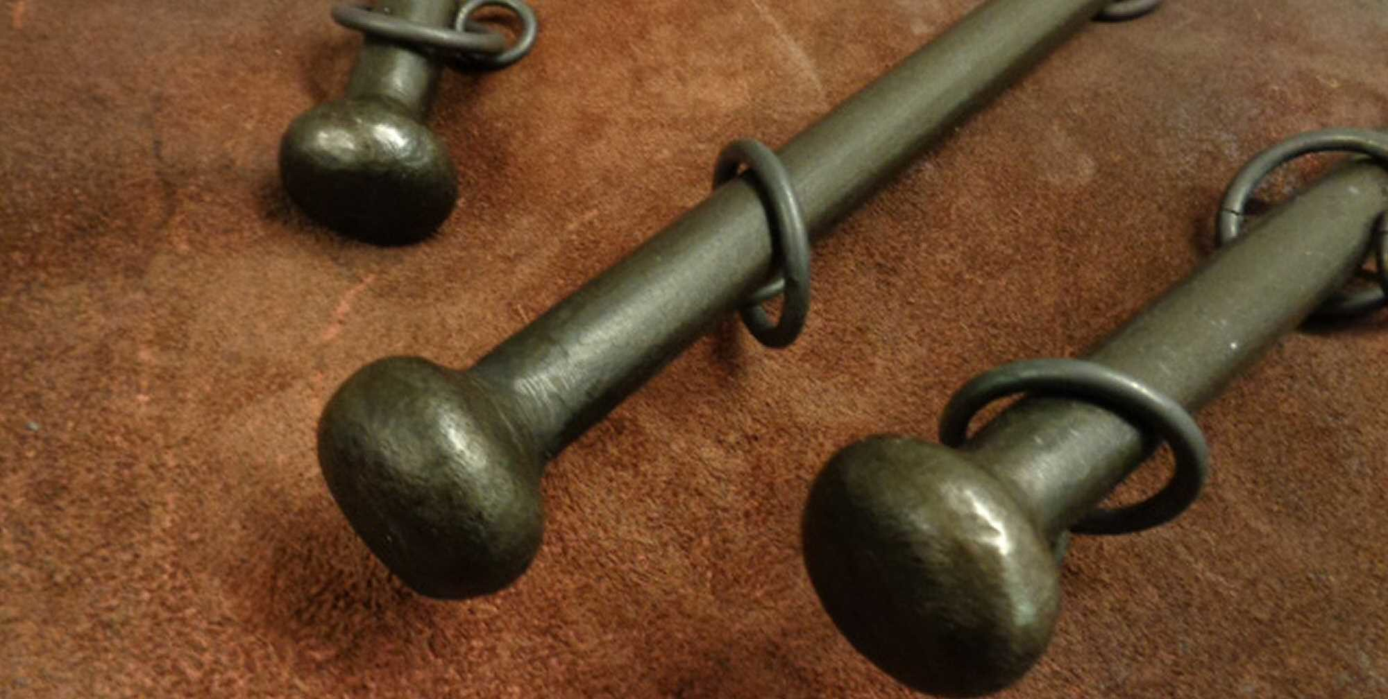 wrought iron curtain poles affordable