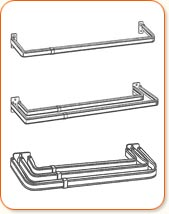 curtain rods with traverse rods