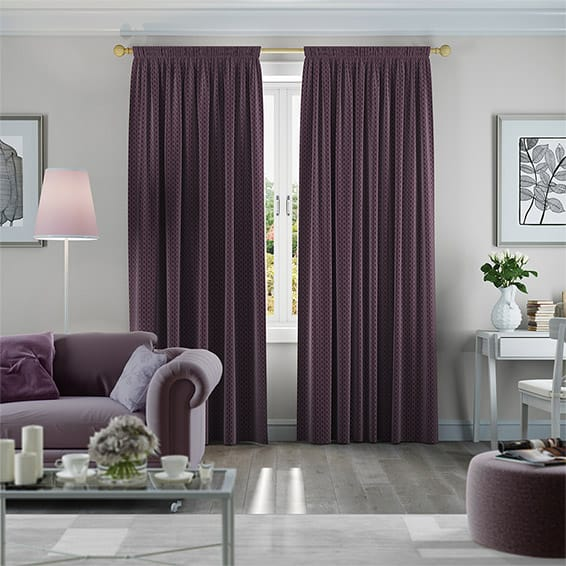 Purple And Grey Living Room Curtains | 1025theparty.com