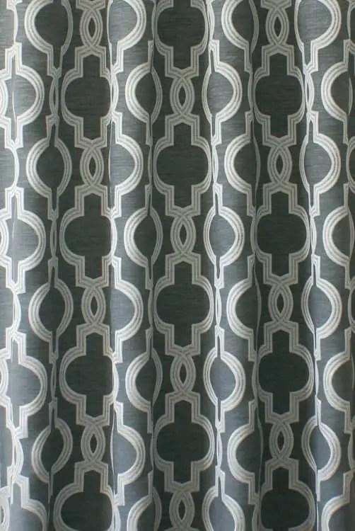 aspen silver curtain fabric from curtainscurtainscurtains